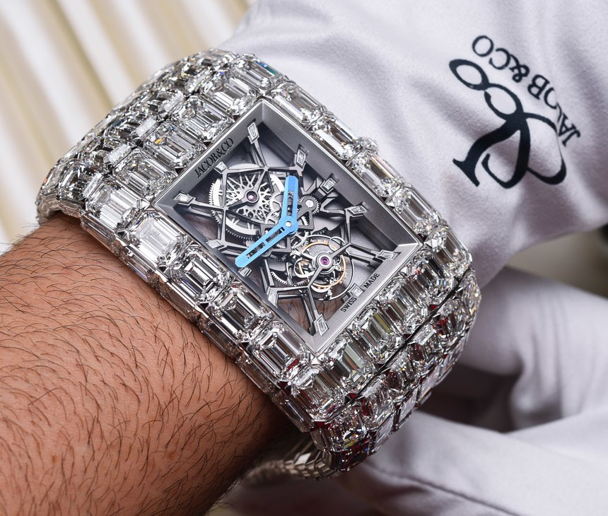 Wearing The Over $18,000,000 Jacob & Co. Billionaire Watch Hands-On