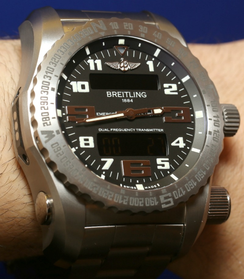 Breitling Emergency II Hands-On: Truly Global Rescue Beacon In A Watch Hands-On