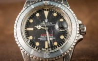 A Vintage Rolex Watches Less Than $1000 Replica 'Red Submariner' Watch With An Actual History Of Military Service Hands-On Submariner