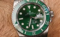 Rolex Submariner 116610LV In Green Watch Review Submariner Wrist Time Reviews