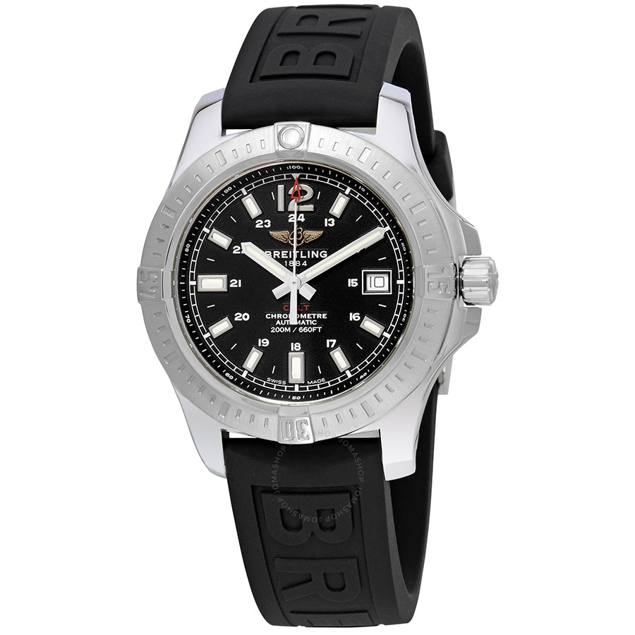 Breitling Colt Automatic Volcano Black Dial Men's Watch A1731311/BE90/150S