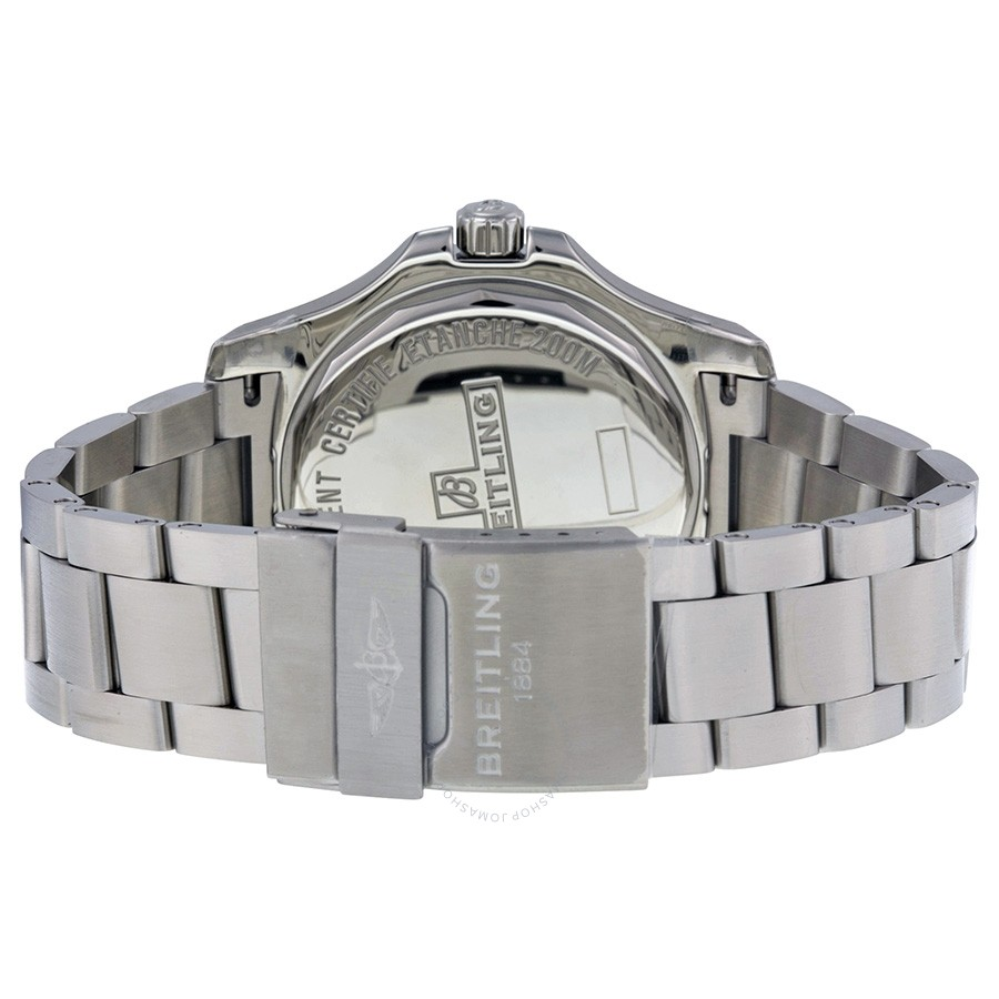 Breitling Colt Blue Dial Stainless Steel Men's Watch A7438811-C907SS
