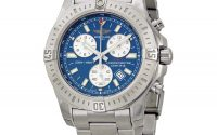 Breitling Colt Chronograph Blue Dial Men's Watch A7338811-C905SS